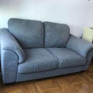 Ikea Tidafors 3 seats sofa in Hensta Grey