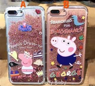 Peppa Pig Iphone Case 📱(流沙閃粉 & 3D 立體版)