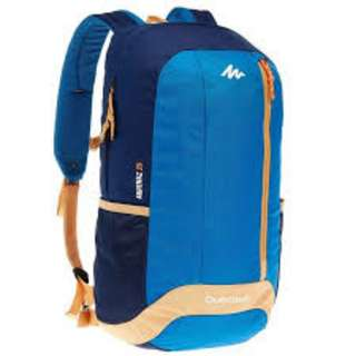 ARPENAZ 20-LITRE HIKING BACKPACK - BLUE/CREAM
