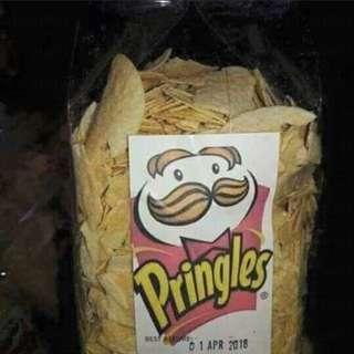 PRINGLES 350g prepacked