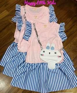 New Rabbit Princess Dress size 7 (3-4yrs)