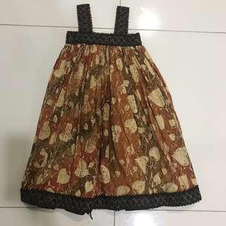 Batik Dress 3-5yrs