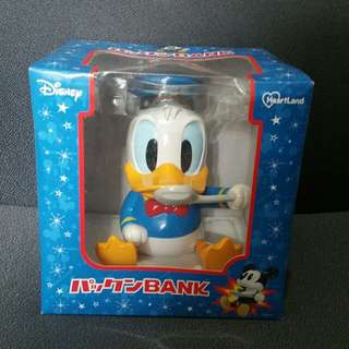 Disney Donald Duck 唐老鴨立體錢箱