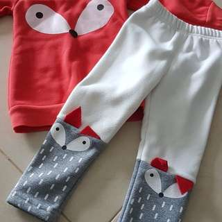 Preluved kids termal wear