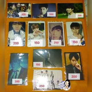 KPop Boy Groups Official Cards