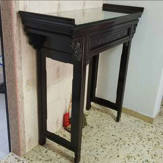 Solid wood antique altar