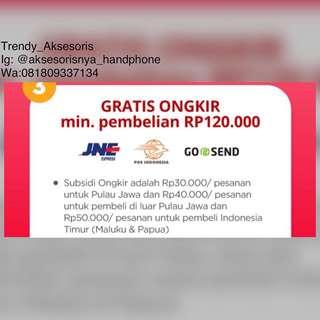 GERATIS ONGKIR SELURUH INDONESIA