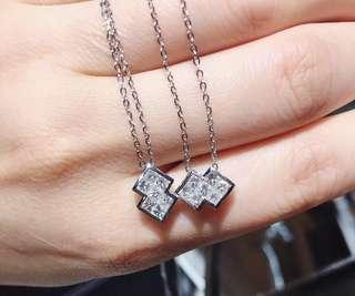 鑽石鑽骨鏈 diamond necklace