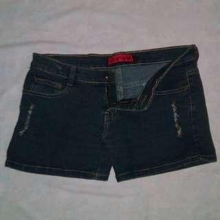 Street Code Maong Shorts