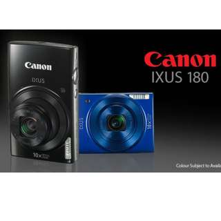Canon IXUS 180 Brand New In Box FREE 256GB
