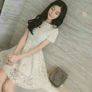 Korean Lace Dress 💋