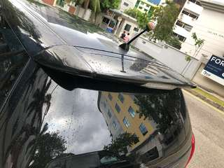 Original Toyota Wish Aerosport Rear Spoiler