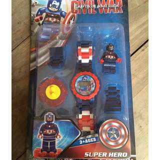 Avengers Captain America Kids Watch