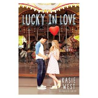 E-book English Novel - Lucky in Love  by Kasie West