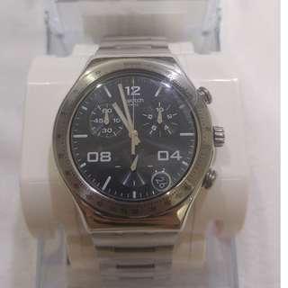 Jam Tangan Swatch Blustery Black (YCS564G)