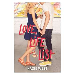 E-book English Novel - Love, Life, and the List  by Kasie West