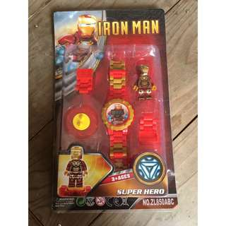 Avengers Ironman Kids Watch