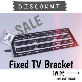 Fixed Wall Mount TV Bracket