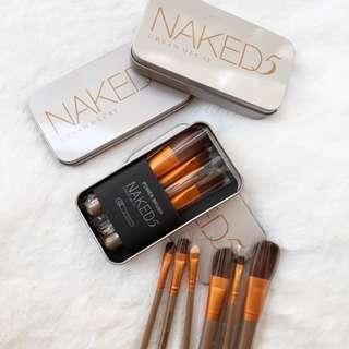 Naked 7pcs brush set
