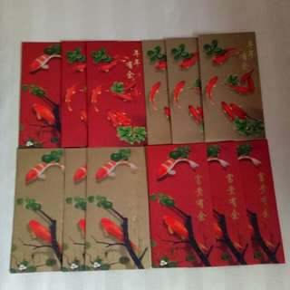 Fidelity International Red Packets (12 nos)