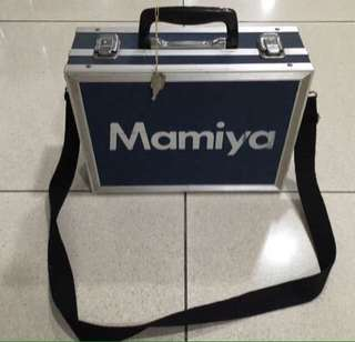 Original Vintage Retro 1970's Mamiya Hard Case Film Camera Sling Cum Photographer Hand Bag Complete With Key Indie