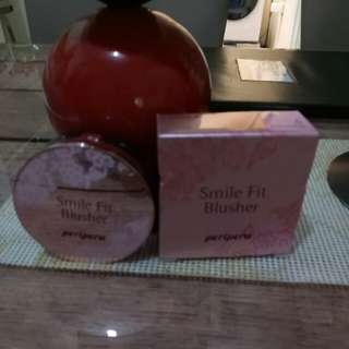 Peripera smile fit blusher