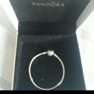 Pandora 16cm Heart Collier