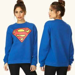 FOREVER21 SUPERMAN Sweater