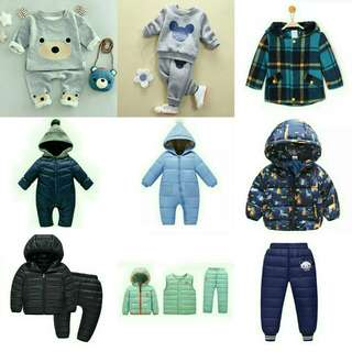 Boys Warm Outfits!