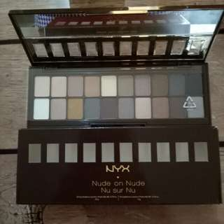 Nyx nude on nude eye shadow