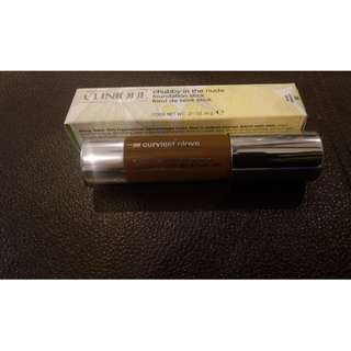 BNIB CLINQUE CHUBBY IN THE NUDE FOUNDATION STICK