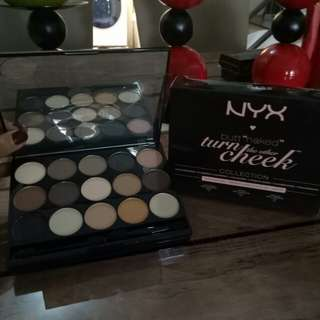 Nyx turn on the other cheek