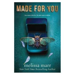 E-book English Novel - Made for You by Melissa Marr