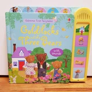 Goldilocks and thr three bears