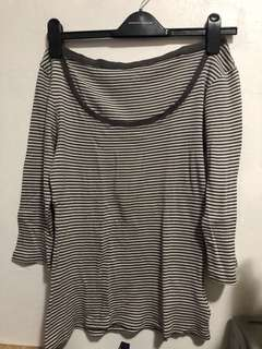 Gap Stripes 3/4 Sleeve Too