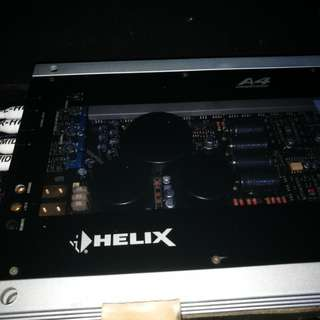Car amplifier, car amp.Helix A4 German Competition Amplifier