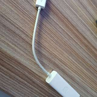 Apple usb to lan adapter