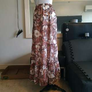 F21 Maxi Skirt