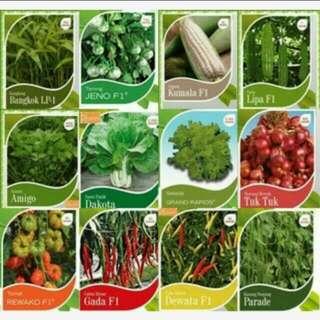 Benih sayuran 21 jenis