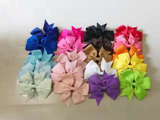 20-pcs Hairbow Set