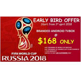 WORLD CUP 2018 PROMOTION