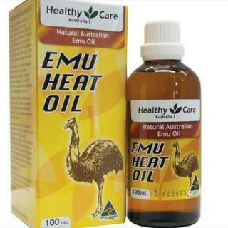 BN Healthy Care Emu Heat Oil 100ml