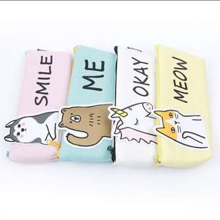 Cute animal pencil case