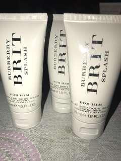Burberry Brit Splash body wash