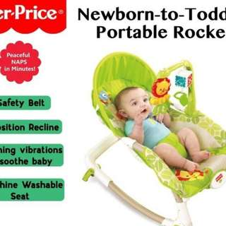 Fischer Price newborn to toddler rocker ( new, not used but box opened)