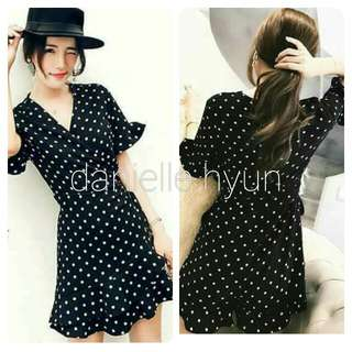🔴Polka dress