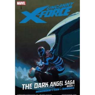 (Brand New) Uncanny X-Force : The Dark Angel Saga Book 1   By: Hachette Australia, Billy Tan (Illustrator), Mark Brooks (Illustrator), Jerome Opena (Illustrator) - Hardcover