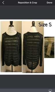 Black Sweater-