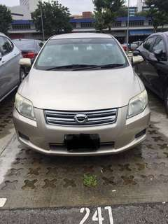 Toyota Axio selling car spare part