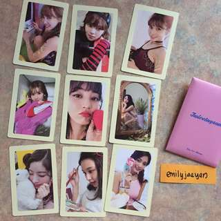 Twicetagram Official Photocard Set